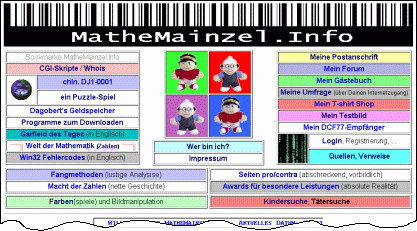 MatheMainzel.Info preview
